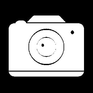 Icon camera white